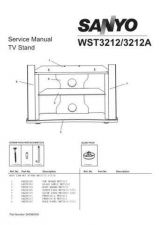 Buy Fisher. TV STAND-WST3212A_SM Service Manual by download Mauritron #218707