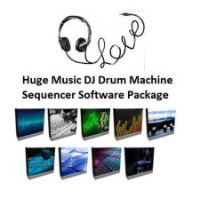 Buy Huge Music Editing DJ Drum Machine Sequencer Software Package