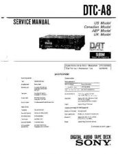 Buy Sony DTC-ZA5ES Service Manual by download Mauritron #240459