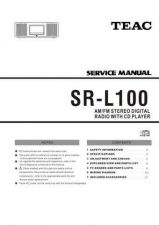 Buy Teac SR-L100(TC) Service Manual by download Mauritron #223919