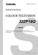 Buy TOSHIBA 32ZP18PCD Service Schematics Service Information by download #114093