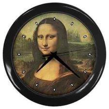 Buy Mona Lisa Leonardo Da Vinci Art Wall Clock