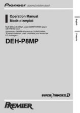 Buy Pioneer 103539299 Operation MANUAL DEH-P8MP by download Mauritron #223199