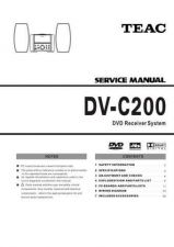 Buy Teac DV-C200 Service Manual by download Mauritron #223707