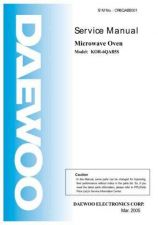Buy Daewoo OR6QAB5001 Manual by download Mauritron #226284