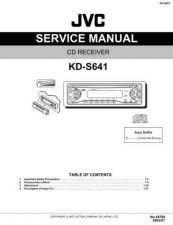 Buy JVC KD-S641 Service Manual Schematic Circuit. by download Mauritron #271524