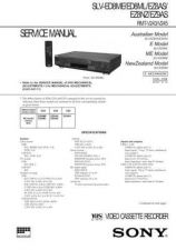 Buy SONY SLVE700B VIDEO SERVICE MANUAL Technical Info by download #105161