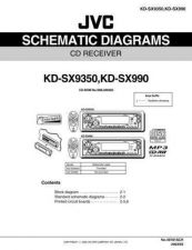 Buy JVC KD-SX9350 KD-SX990 SCH SERVICE MANUAL by download Mauritron #220439