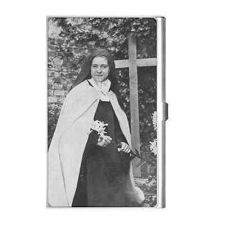 Buy St Therese Of Lisieux Saint Photo Business Credit Card Holder