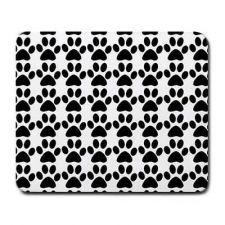 Buy Paw Print Cat Dog Pattern Pets Computer Mouse Pad Mousepad