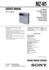 Buy Sony MZ-M10 Service Manual. by download Mauritron #243120