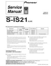 Buy PIONEER R2141 Service I by download #106467
