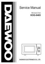 Buy Daewoo. SM_KOR-6167BL_(E). Manual by download Mauritron #213757