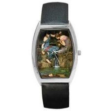 Buy Nymphs Finding the Head of Orpheus Waterhouse Art Wrist Watch