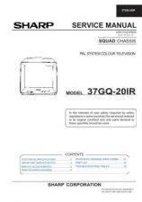 Buy Sharp 37GQ20IR (1) Service Manual by download Mauritron #207801