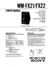 Buy Sony WM-FX193-FX195 Service Manual. by download Mauritron #245759