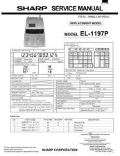 Buy Sharp EL-509R Technical Information by download Mauritron #232871