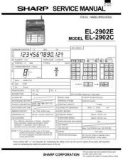 Buy Sharp EL520R Technical Information by download Mauritron #232878