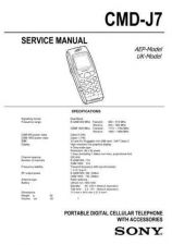 Buy Sony CMD-J70 Service Technical Info by download #104695
