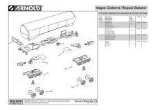 Buy Arnold No.316 Vagon Cisterna Repsol Butano HN6056 Information by download Mauri