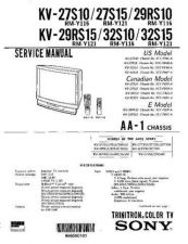 Buy Sony KV-14V5A Service Manual by download Mauritron #244255