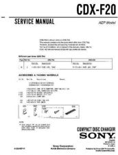 Buy Sony CDX-F490-C490RDS Service Manual by download Mauritron #238567