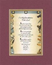 Buy Heartfelt Poem For Grandfathers - For My Grandfather, with Love on 11x14 mat