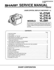 Buy Sharp. VLZ7H0 Service Manual by download Mauritron #211691