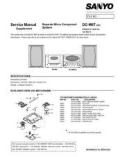 Buy Fisher DC-M3T MD TM-03(1) Service Manual by download Mauritron #215356