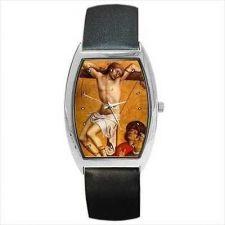 Buy Saint Dismas Crucifixion Thief Barrel Wrist Watch