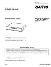 Buy Fisher. Service Manual For VSP-SV2000P by download Mauritron #217724
