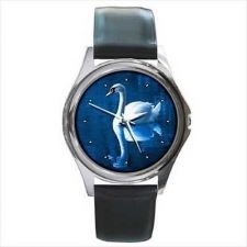 Buy Swan Lake Reflection Round Unisex Wrist Watch