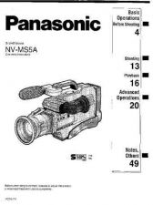 Buy Panasonic NVMS5 Operating Instruction Book by download Mauritron #236253