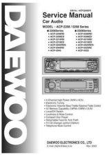 Buy Daewoo. ACP-0108SM(A4)_2. Manual by download Mauritron #212484