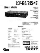 Buy Sony CDP-195 by download Mauritron #237206