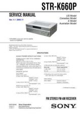 Buy Sony STR-SE581 Service Manual. by download Mauritron #245168