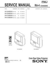 Buy Sony KP-61V80 Manual by download Mauritron #229398