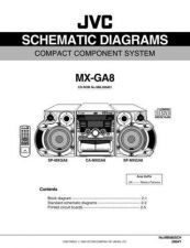 Buy JVC MX-GA8UM sch Service Manual Schematic Circuit. by download Mauritron #271931
