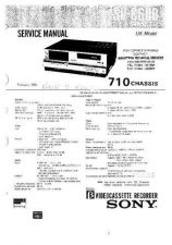 Buy SONY SLV-772HF Technical by download #105127