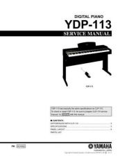 Buy Yamaha YDP131 PCB2 C Information Manual by download Mauritron #260058