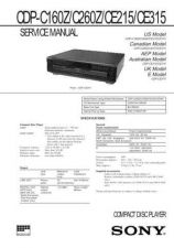 Buy Sony CDP-C100 Service Manual by download Mauritron #237252