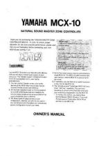 Buy Yamaha MCX-10 Operating Guide by download Mauritron #248648