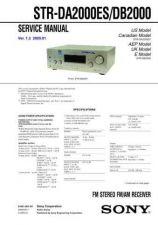 Buy Sony STR-DE305 Manual by download Mauritron #229859