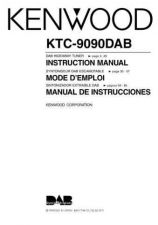 Buy Kenwood KTC-9090DAB Operating Guide by download Mauritron #219553
