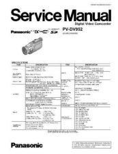 Buy Panasonic PVL679K Service Manual by download Mauritron #268458