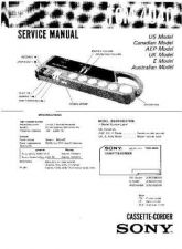 Buy Sony TC-WE471 Service Manual. by download Mauritron #245516