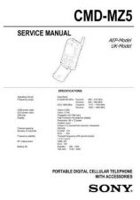 Buy Sony CMD-MZ5 Technical Info by download #104698