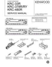 Buy KENWOOD KRC-309S 389 389W 409 479 489 489G Technical Information by download #11
