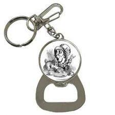 Buy Mad Hatter Alice In Wonderland Key Chain Beer Bottle Opener