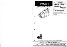 Buy Hitachi VMH725LA Service Manual by download Mauritron #265128